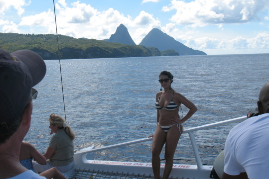 Catamaran cruise - St Lucia (13)