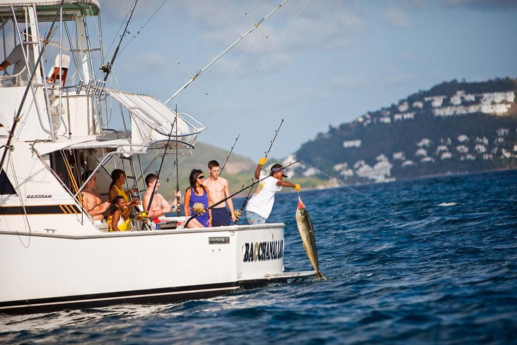 St lucia eztravelpad for Deep sea fishing st lucia