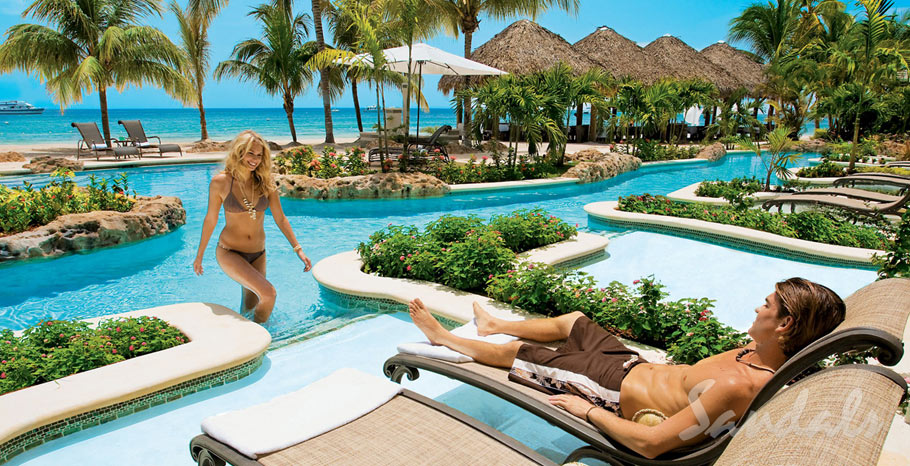 Sandals Negril Swim Up Suite with Butler Service