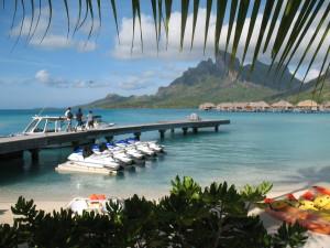 Four Seasons Bora Bora activities pier