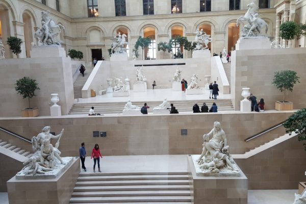 Gallery in The Louvre Paris
