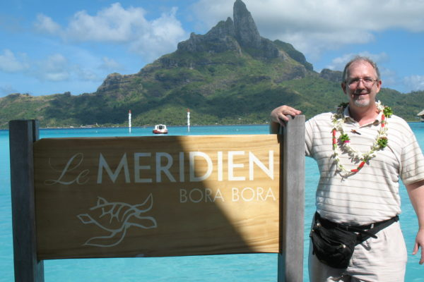 Scott at Le Meridien Bora Bora