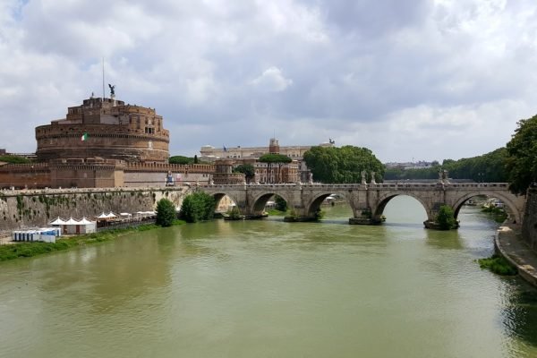 Bridge over River near vatican