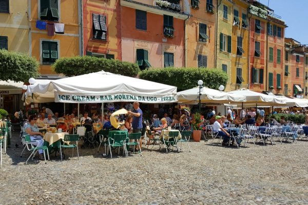 Cafes in Portofino